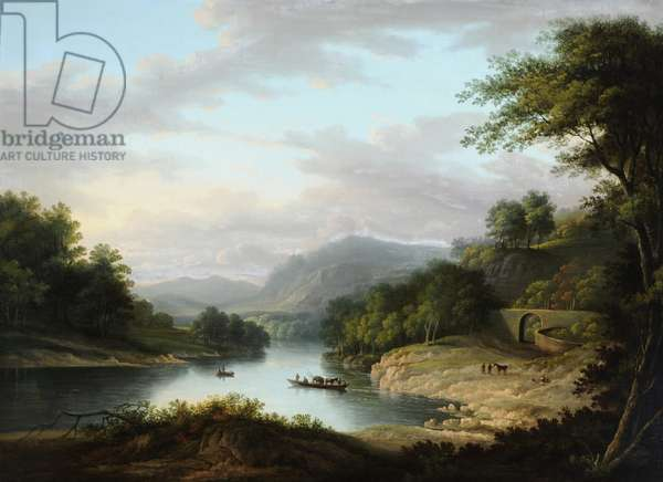 The Pass of Achray, 1790s (oil on canvas)