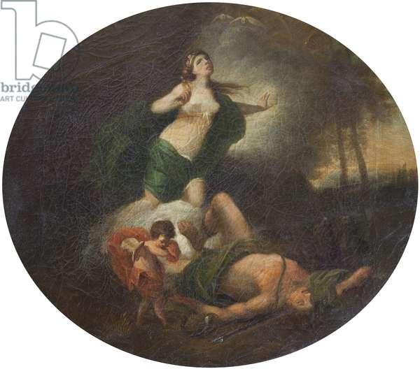 Venus lamenting the Dead Adonis