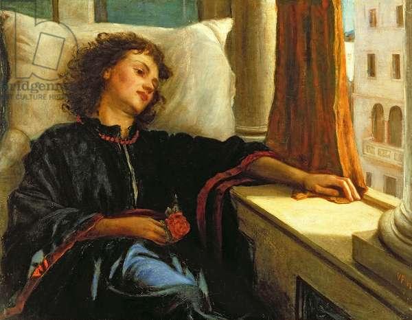 Lisa, from 'The Decameron' by Giovanni Boccaccio (1313-75), 1867
