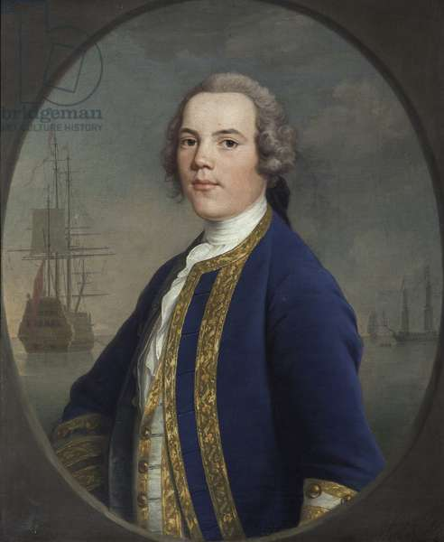 A Naval Officer, possibly Thomas Adams (d.1748)