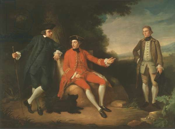 William Weddell and William Palgrave (oil on canvas)