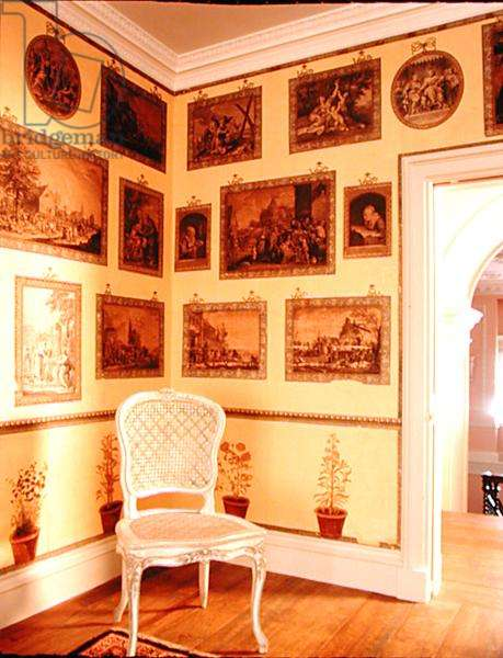 View of the corner of the Print Room (photo)