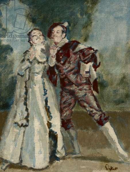 La ci Darem la Mano (Don Giovanni) (oil on canvas)