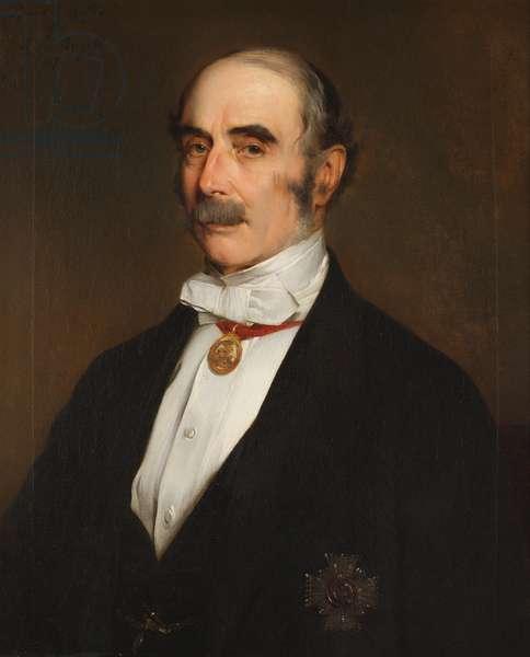 Lt-Gen. Sir Thomas Myddelton Biddulph KCB (1809-1878)(copy after original by Baron Henrich von Angeli)