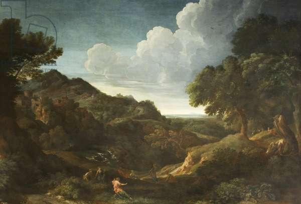 Mountainous Landscape with Eurydice (?)
