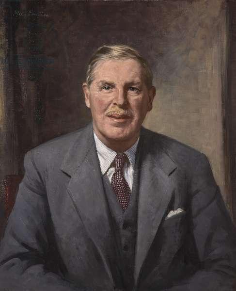 Sir John Heathcoat Amory 3rd Bt, c.1965 (oil on canvas)
