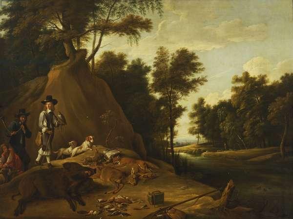 A Hunting Scene