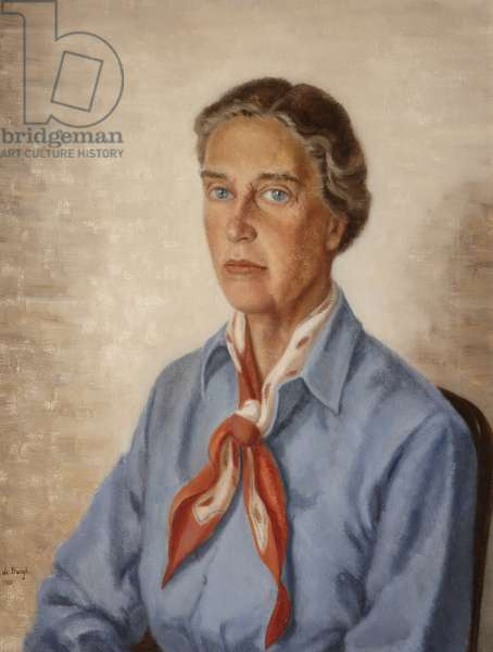 Lady Eleanor Balfour, Lady Cole, 1961 (oil on canvas)