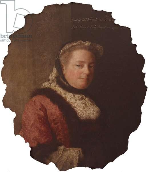 Mary 'Molly' Lepel, Lady Hervey, c.1762 (oil on canvas)