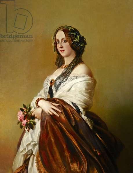 Lady Harriet Elizabeth Georgiana Howard, Duchess of Sutherland, after Franz Xaver Winterhalter (oil on canvas)