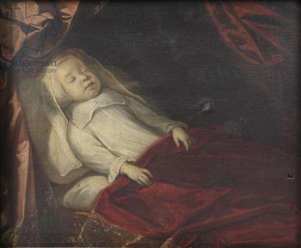 Elder Brother of the 1st Duke of Devonshire, lying dead