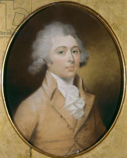 William John Chute (oil on board)