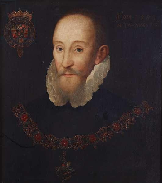 Henry Hastings, 3rd Earl of Huntingdon (1536-1595), aged 52