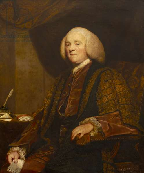 The Right Hon. George Grenville MP, c.1767 (oil on canvas)