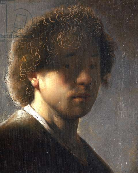 Self-portrait at the age of 22 (after Rembrandt)