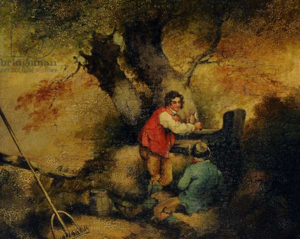 Labourers Resting
