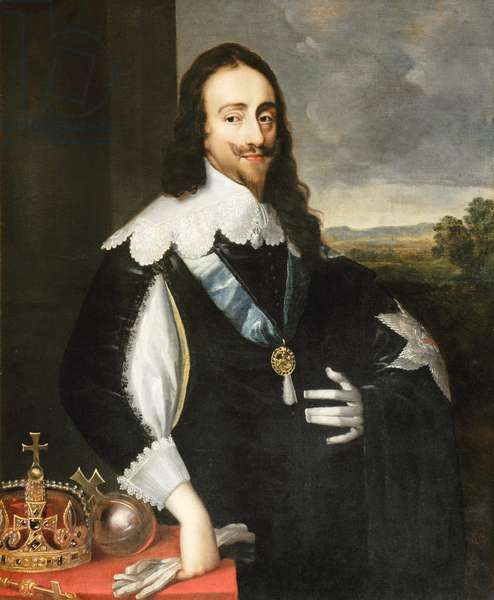 King Charles I, 1640 (oil on canvas)