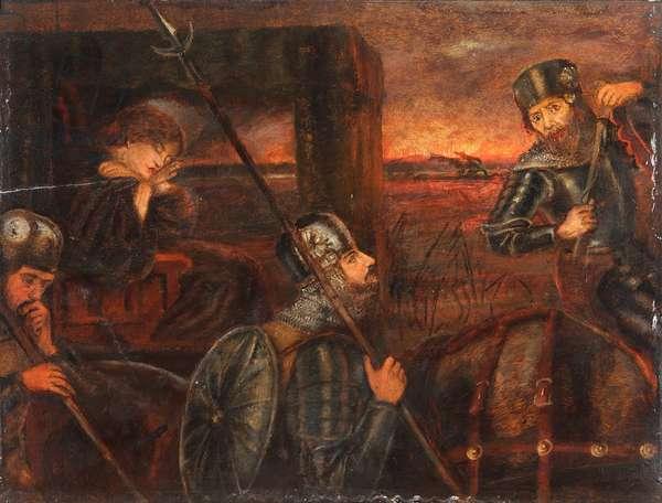 The Theodore Watts-Dunton Cabinet:  The Princess Sabra taken to the Dragon