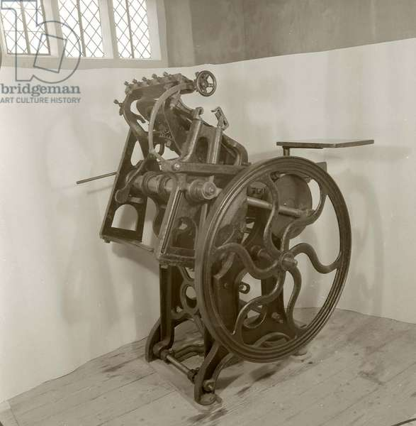 The printing-press that Virginia Woolf gave Vita Sackville-West in 1930 (wood and metal)
