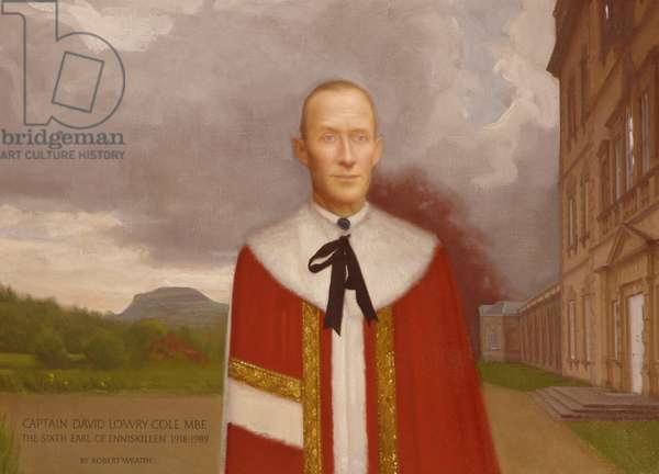 David Lowry Cole, 6th Earl of Enniskillen (1918-1989), 1997 (oil on canvas)