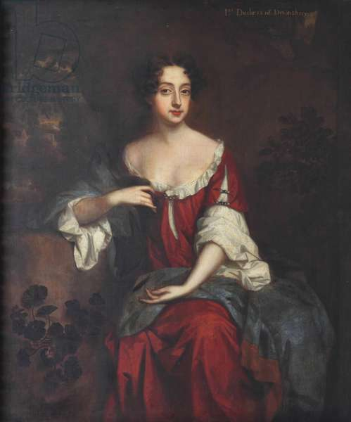Lady Mary Butler, Duchess of Devonshire (oil on canvas)