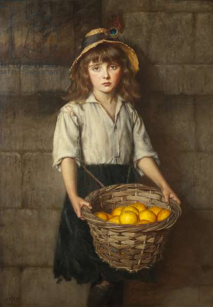 Only an Orange Girl