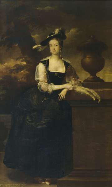 Anne Lee, Lady Vernon (oil on canvas)