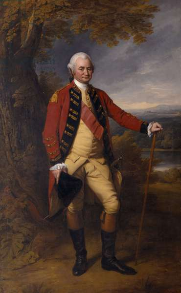Robert Clive, 1st Lord Clive, c.1770 (oil on canvas)
