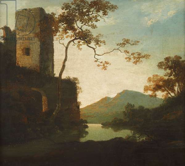 Classical Landscape with a Tower