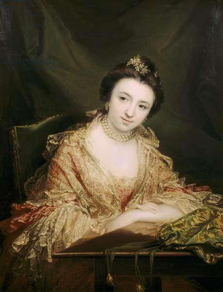 Called The Hon. Harriet Molesworth, The Hon. Mrs John Staples (1745-1812) but most probably Harriett Conolly, Mrs. John Staples (d.1771)