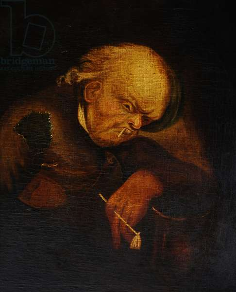 The Drunken Cobbler (An Old Man with a Pipe)