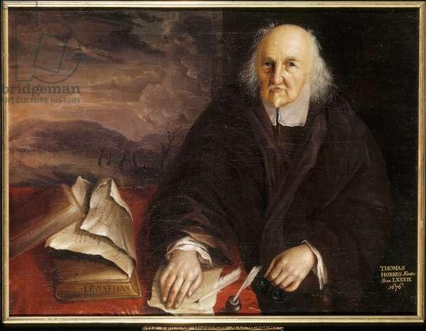Thomas Hobbes, 1676 (oil on canvas)