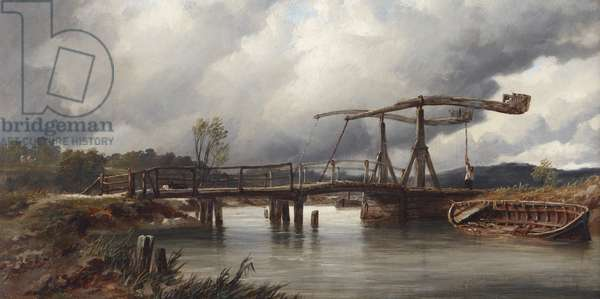 A Swing Bridge on the River Ouse