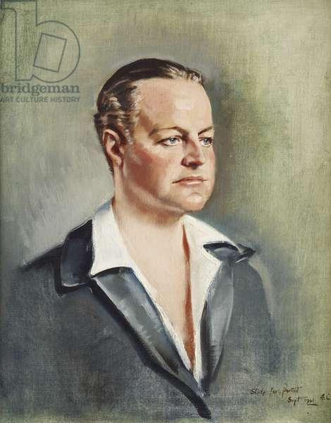Huttleston Rogers Broughton, 1st Lord Fairhaven, 1941 (oil on canvas)
