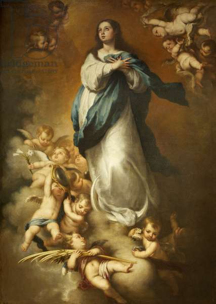 The Immaculate Conception (after Murillo)