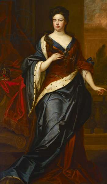 Queen Anne, c.1705 (oil on canvas)
