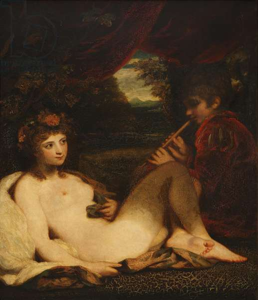 Nymph and Piping Boy
