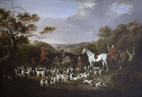 Lord Anson's Hunt on Cannock Chase