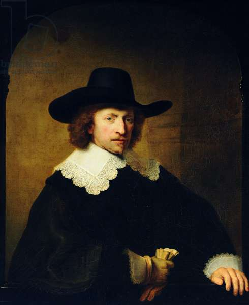 Nicholaes van Bambeeck (1596 - 1661), aged 44, 1641