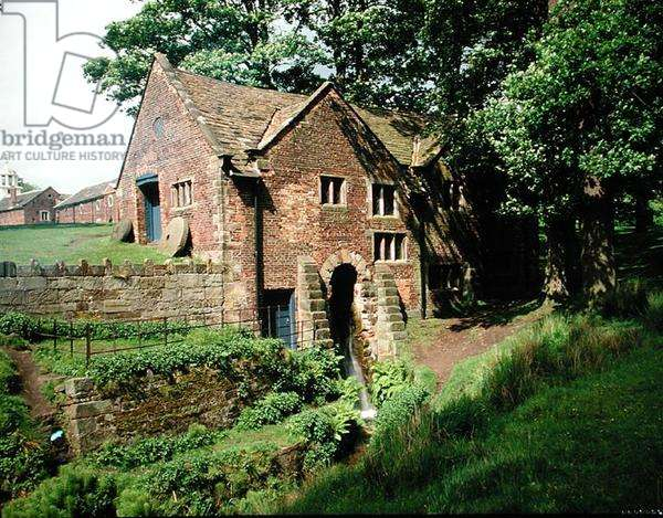 The Watermill, built by Sir George Booth c.1616 (photo)