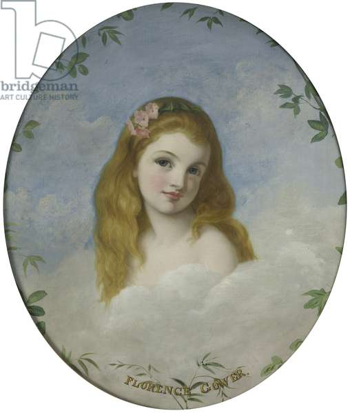 Lady Florence Sutherland-Leveson-Gower, Lady Florence Chaplin (d.1881), as a child