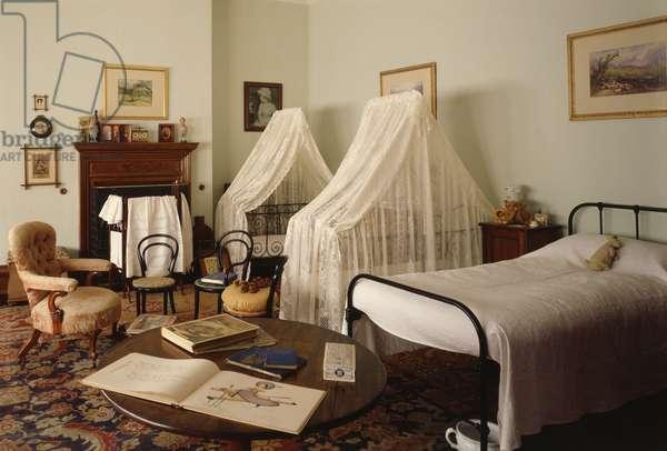 The Night Nursery, late 19th Century (photo)