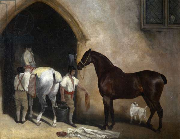 Curricle Horses