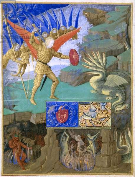 St. Michael slaying the dragon