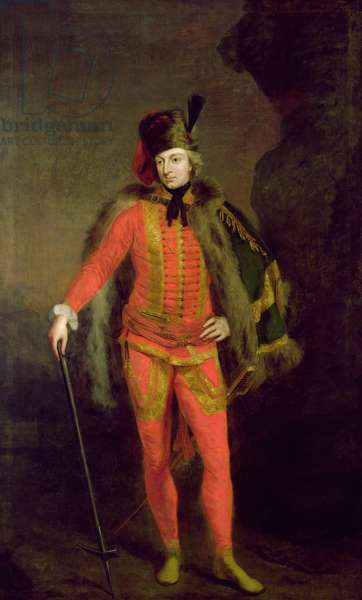 William Windham II (1717-61) (oil on canvas)