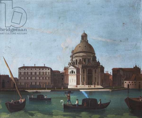 Santa Maria della Salute, Venice  (imitator of Canaletto)