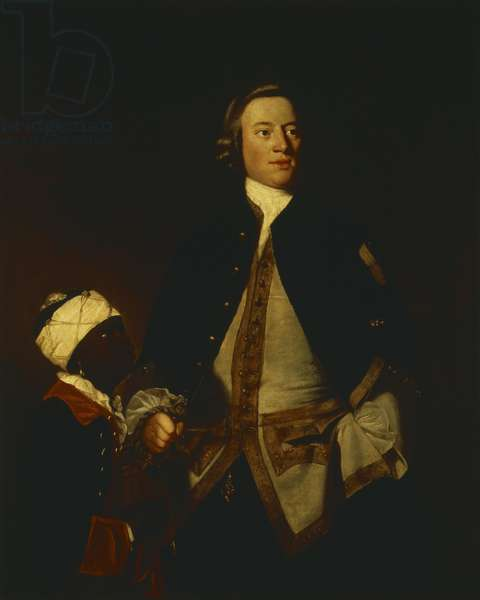 Paul Ourry, c.1748 (oil on canvas)