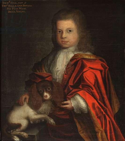 Richard Hill of Tern (1724-1734)