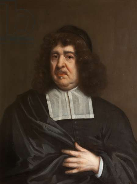 An Unknown Divine (possibly a Huguenot Cleric)