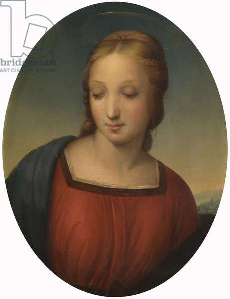 Madonna of the Meadow (detail) (after Raphael)